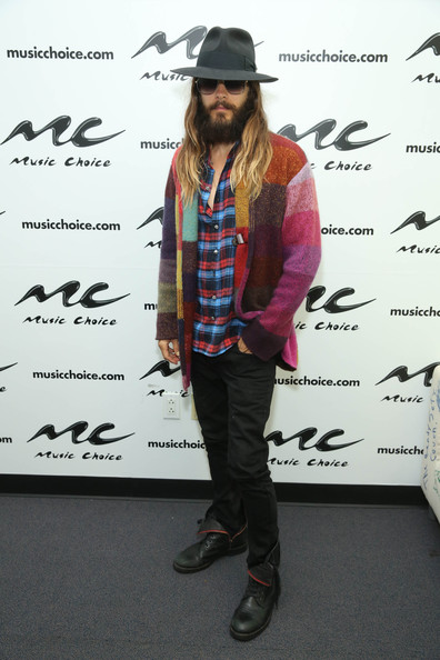 Jared Leto - 30 Seconds to Mars Visits Music Choice
