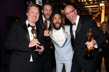 Jared Leto Behind the Scenes at the Oscars