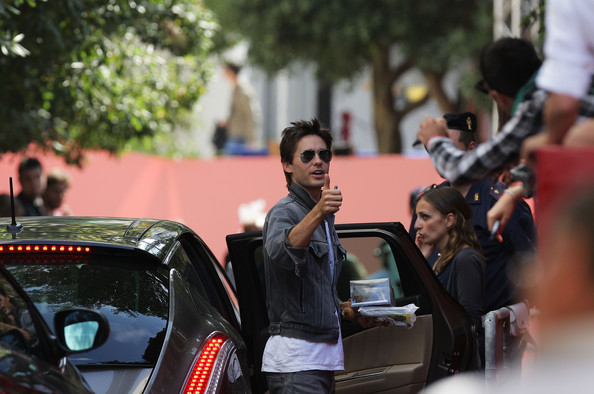 Jared Leto - Celebrity Sightings Day 10: 66th Venice Film Festival