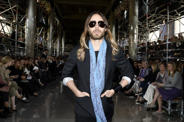 Jared Leto - Front Row at the Miu Miu Show