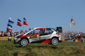 Jari-Matti Latvala FIA World Rally Championship Germany - Day Three