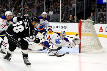 Jarome Iginla Edmonton Oilers v Los Angeles Kings