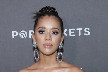 Jasmin Savoy Brown Entertainment Weekly Celebrates Screen Actors Guild Award Nominees At Chateau Marmont Sponsored By L'Oréal Paris, Cadillac, And PopSockets - Arrivals