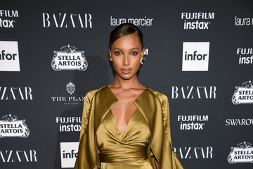 Jasmine Tookes Harper's BAZAAR Celebrates 'ICONS By Carine Roitfeld' At The Plaza Hotel Presented By Infor, Laura Mercier, Stella Artois, FUJIFILM And SWAROVSKI - Red Carpet