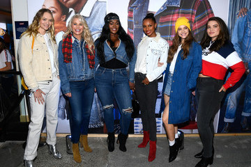 Jasmine Tookes Levi's Times Square Store Opening