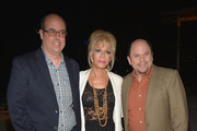 """Christopher Ashley, Pamela Shaw and Jason Alexander attend """"Lucky Stiff"""" opening at the 29th Annual Fort Lauderdale Film Festival at Amaturo Theater on November 7, 2014 in Fort Lauderdale, Florida."""