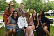 Kimberley Hatchett, Jason Binn, Russell Simmons, Gayle King, Camilla Olsson, Nina Whittington-Cooper and guest attend as Jason Binn hosts his Annual Memorial Day Party with DuJour Media's Leslie Farrand and Moby's sponsored by Rolls-Royce and Empire CLS on May 29, 2016 in East Hampton.