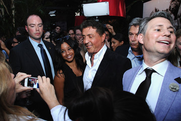 Jason Binn Sylvester Stallone Celebrates His Magazine Cover