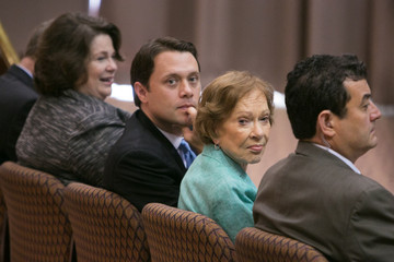 Jason Carter Former President Jimmy Carter Holds News Conference on His Cancer Diagnois