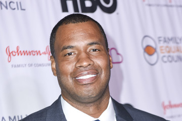 Jason Collins Family Equality Council's Impact Awards At The Globe Theatre, Universal Studios - Arrivals