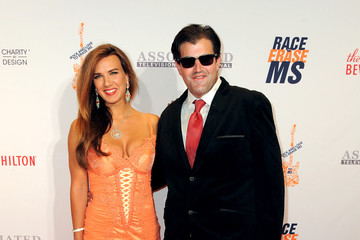 Jason Davis Natalie Burn 23rd Annual Race To Erase MS Gala - Red Carpet