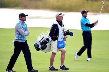 Jason Day Colin Swatton The Presidents Cup - Round Three