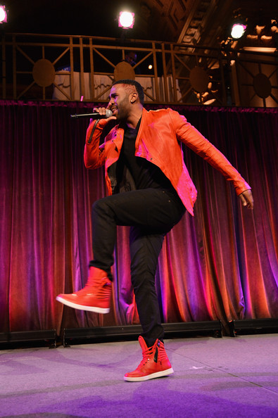 Jason Derulo Jason Derulo performs at the Christopher & Dana Reeve Foundation's A Magical Evening Gala at Cipriani, Wall Street on November 28, 2012 in New York City.