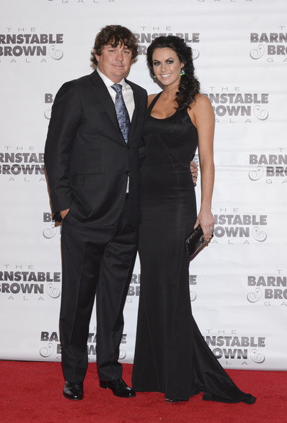 The Barnstable Brown Kentucky Derby Eve Gala [red carpet,carpet,clothing,dress,premiere,shoulder,event,fashion,formal wear,flooring,jason dufner,amanda dufner,kentucky,louisville,barnstable brown house,barnstable brown kentucky derby,eve gala]