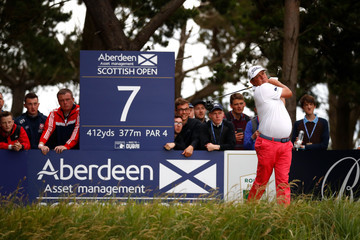 Jason Dufner AAM Scottish Open - Day Two