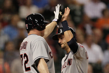 Jason Giambi Cleveland Indians v Houston Astros