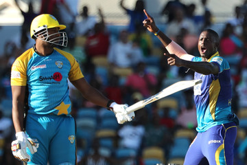 Jason Holder Barbados Tridents v St Lucia Stars - 2018 Hero Caribbean Premier League (CPL) Tournament