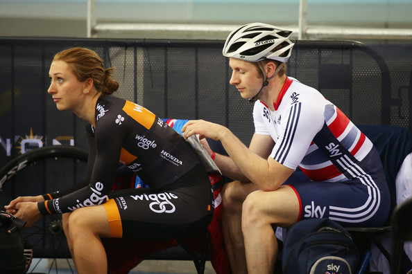 Jason Kenny And Laura Trott Photos Photostream Pictures Revolution Series Elite Track Cycling