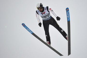 Jason Lamy Chappuis FIS Nordic World Cup - Nordic Combined HS100 / Team