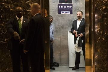Jason Miller President-Elect Donald Trump Holds Meetings At His Trump Tower Residence In New York