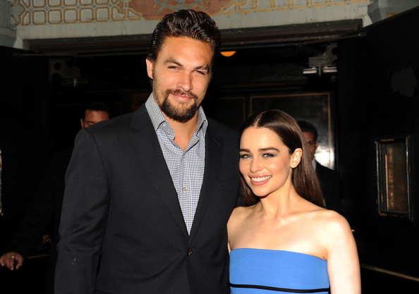 Jason Momoa and Emilia Clarke Photos Photos - 'Game of ...