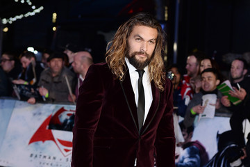 Jason Momoa 'Batman V Superman: Dawn of Justice'- European Premiere - Red Carpet