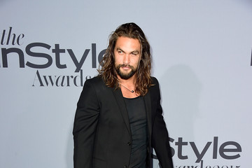 Jason Momoa InStyle Awards 2015 - Arrivals