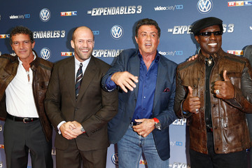 Jason Statham Antonio Banderas 'The Expendables 3' Premieres in Cologne