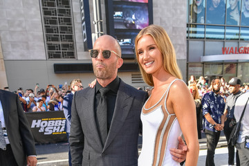 Jason Statham Rosie Huntington-Whiteley Premiere Of Universal Pictures' 'Fast And Furious Presents: Hobbs And Shaw'