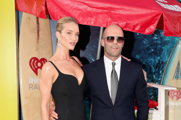 Jason Statham Rosie Huntington-Whiteley Warner Bros. Pictures And Gravity Pictures' Premiere Of 'The Meg' - Arrivals