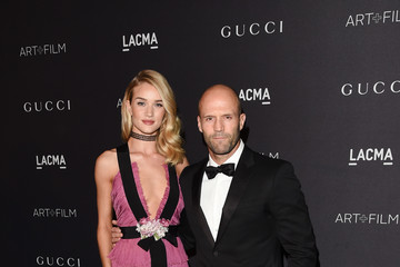 Jason Statham LACMA 2015 Art+Film Gala Honoring James Turrell and Alejandro G Inarritu, Presented by Gucci - Red Carpet