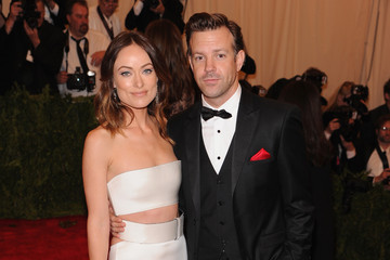 Jason Sudeikis Red Carpet Arrivals at the Met Gala
