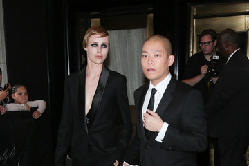 Jason Wu MET Gala 2015 - Departures From the Carlyle