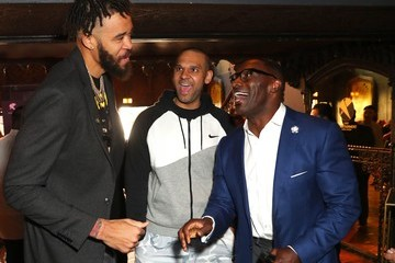 Javale Mcgee First Entertainment x Los Angeles Lakers and Anthony Davis Partnership Launch Event, March 4 in Los Angeles