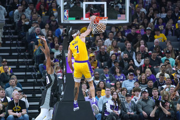 Javale Mcgee Los Angeles Lakers v Sacramento Kings