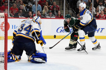 Jay Bouwmeester St Louis Blues v Minnesota Wild - Game Five