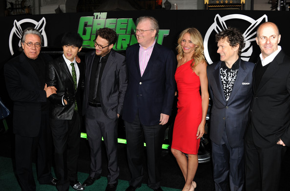 "Seth Rogen and Jay Chou - Premiere Of Columbia Pictures' ""The Green Hornet"" - Arrivals"