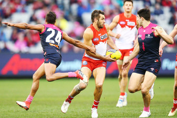 Jay Kennedy-Harris AFL Rd 21 - Melbourne vs. Sydney