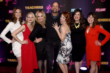 Jay Martel Caitlin Barlow 'Younger' Season 2 and 'Teachers' Series Premiere