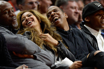 Jay-Z Beyonce Knowles Brooklyn Nets v Los Angeles Clippers