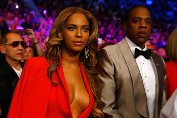 Jay-Z Beyonce Knowles Floyd Mayweather Jr. v Manny Pacquiao Fight