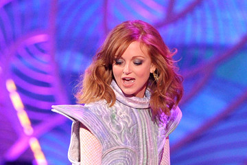 Jayma Mays Nickelodeon's 27th Annual Kids' Choice Awards - Show