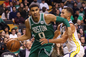 Jayson Tatum Golden State Warriors v Boston Celtics