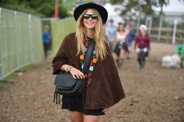 Jazzy De Lisser Celeb Sightings at the Glastonbury Festival