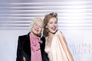 Ellen von Unwerth and Eva Herzigova  attend the Jean-Paul Gaultier 50th Birthday Cocktail and Party at Theatre du Chatelet on January 22, 2020 in Paris, France.
