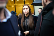 Irina Shayk attends Atelier Jean-Paul Gaultier, during Paris Fashion Week - Haute Couture - Spring Summer 2019, on January 23, 2019 in Paris, France.