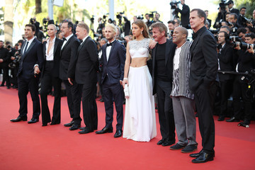 Jean Reno Jared Harris 'The Last Face' - Red Carpet Arrivals - The 69th Annual Cannes Film Festival