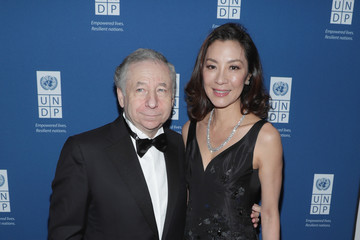Jean Todt Michelle Yeoh United Nations Development Programme (UNDP) Inaugural Global Goals Gala: A Night For Change
