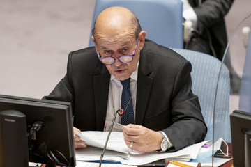 Jean-Yves Le Drian Annual United Nations General Assembly Brings World Leaders Together In Person, And Virtually