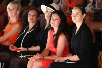 Jeanette Hain Sonja Kirchberger MBFW: Arrivals at the Minx by Eva Lutz Show